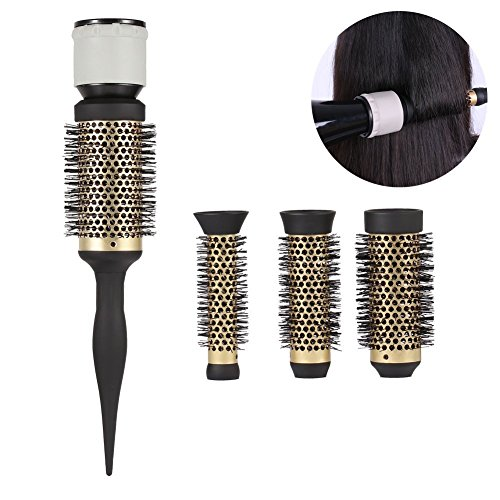 Round Curly Haarkamdiffuser, modieuze keramische ionische salon styling barrel föhn kapper accessoire voor gladde slee krulgolven drooggereedschappen