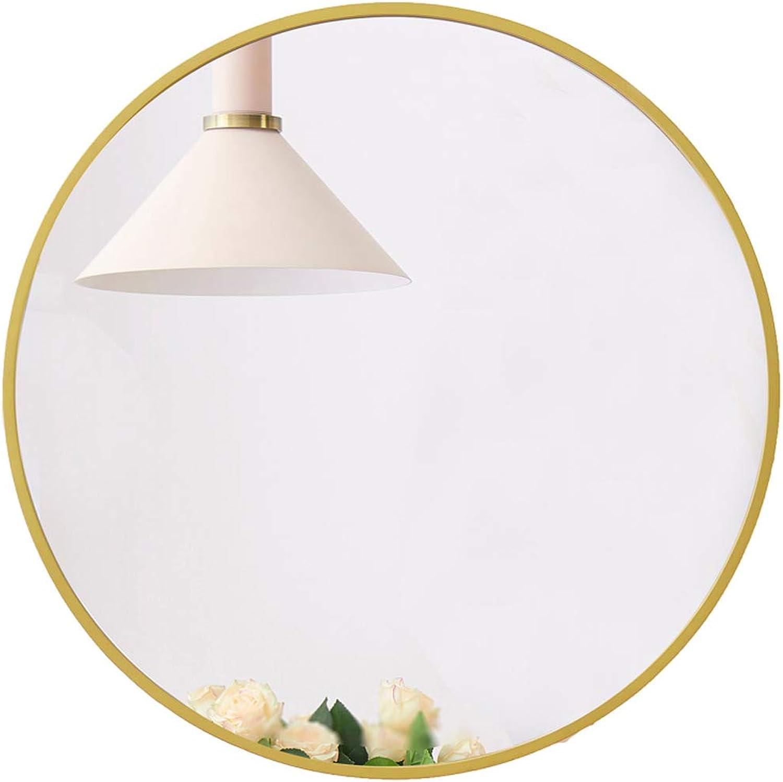 Modern gold Round Wall Mirror(Diameter 50-80cm)