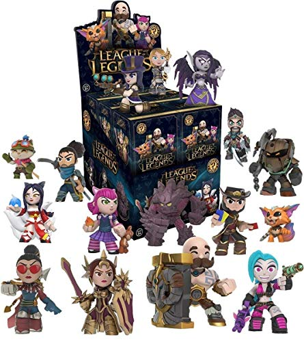 League of Legends Funko Mystery Mini Schaukasten Set mit 12