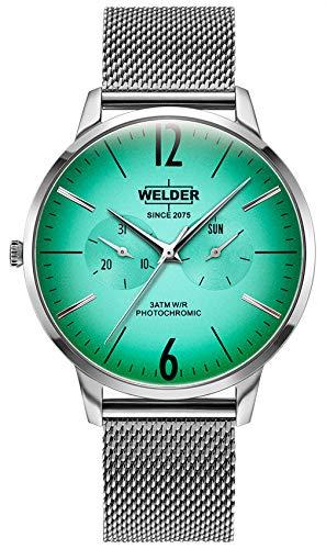 Welder breezy orologio Uomo Analogico Al quarzo con cinturino in Acciaio INOX WWRS400