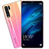 SIM-Free & Unlocked Mobile Phones, Android GO 3G Beatiful Smartphone with 5.0 Inch HD IPS Display, 2500mAh Big Battery,Dual SIM Dual Cameras and Durable Cell phones (Y50-Pink)