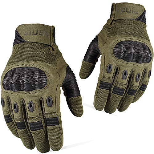 WTACTFUL Motorcycle Gloves Touch Screen Full Finger Gloves for Cycling ATV Bike Motorbike Hunting...