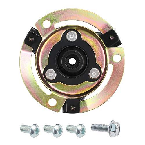 Auto A/C Delphi Kompressor Reparatursatz 5N0820803 Kupplungsnabe Platte mit Schrauben Kompatibel mit A3 Skoda Octavia II Klimakompressor Scheibe Kupplung
