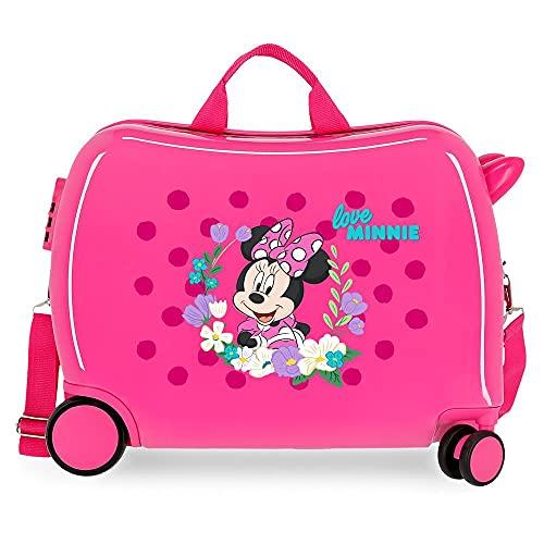 Disney Minnie Golden Days Valigia per bambini, 50 x 38 x 20 cm