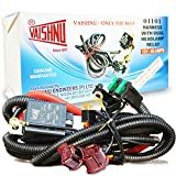 VAISHNU H4 Headlamp Wiring KIT for Cars | 65Amps/800W Relay | for 130/100 or 100/90 Watt H4 Bulbs | Heavy Duty Cables | 1 Year Warranty | 100% Made in India halogen headlight bulbs Mar, 2021