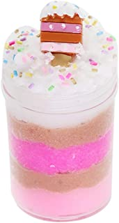 FILOL DIY Fluffy Slime Colorful Mixing Cloud Kit for Kids and Adults, Stress Relief Mix Color Crystal Foaming Clay with Putty Scented Toy Super Soft and Non-Sticky Slime (120ml)