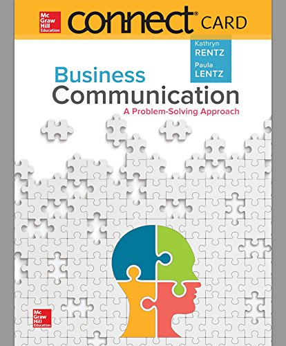 Download Connect 1-Semester Access Card for Business Communication 1259732924