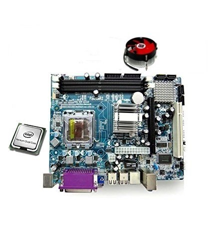 Zebronics 945 Motherboard with Intel Core 2 Duo Processor