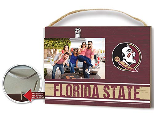 KH Sports Fan Team Colore Florida State Seminoles Clip Logo Photo Frame