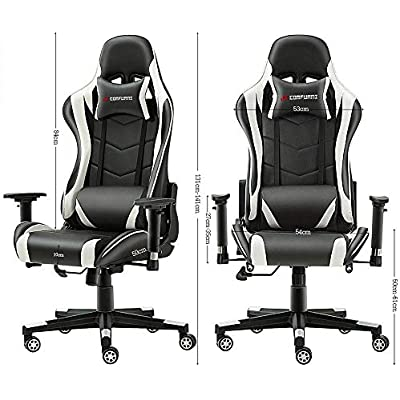Cheap Jl Comfurni Gaming Chair Chesterfield Ergonomic Swivel Office Chair High Back Heavy Duty Home Office Computer Desk Chair Pu Leather Recliner Sport Racing Chair Compare Prices For Jl Comfurni
