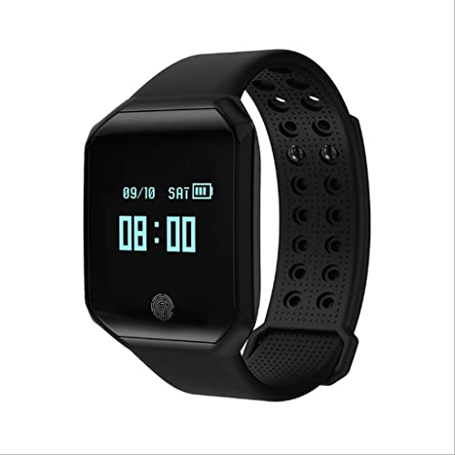 ZfgG Traqueur de forme physique, bracelet d'activité intelligent montres traqueur avec l'écran tactile Pression artérielle moniteur de sommeil de fréquence voiturediaque IP67 imperméable pour Android IPho