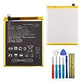E-yiiviil - Batería de repuesto C11P1609 compatible con Asus Zenfone 3 Max 5.5 ZC553KL X00DDA Z00DDA X00HD con herramientas
