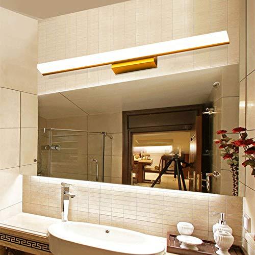 YU-K Hij is in moderne stijl wandlampen badkamerspiegel de voorste waterdichte badkamer muur spiegelkast LED wandlamp, 100 cm, warmwit licht