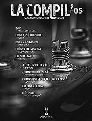 Partitions variété, pop, rock AEDE MUSIC LA COMPIL N.05 - PVG TAB Piano voix guitare tablatures