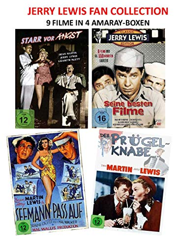 Jerry Lewis Fan Collection (9 Filme) [5 DVDs]