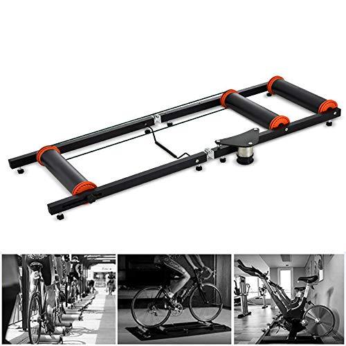 LJLYL Vélo Formation Roller, Formateur d'intérieur Vélo, Cadre Roller Pliant pour vélo Routes Mountain Equipment Fitness