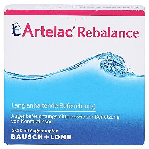 Artelac Rebalance Augentropfen lang anhaltende Befeuchtung, 3x10 ml Lösung