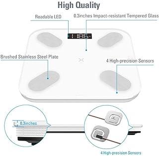 JINHH Báscula de baño Digital Báscula de baño Digital, báscula Báscula de baño, báscula de baño Digital, Vidrio Templado, Pantalla LCD