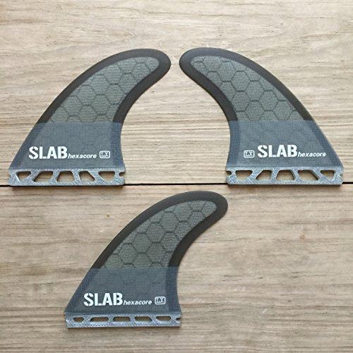 Slab-Surf Fins Thruster hexacore Grey Army Futures Talla L