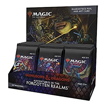 Magic  The Gathering Adventures in the Forgotten Realms Set Booster Box | 30 Packs  360 Magic Cards