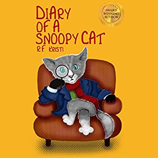 Diary of a Snoopy Cat audiobook cover art