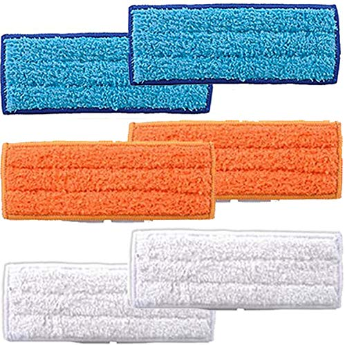 6 Pack Washable Wet mop Pads for iRobot Braava Jet 240 241