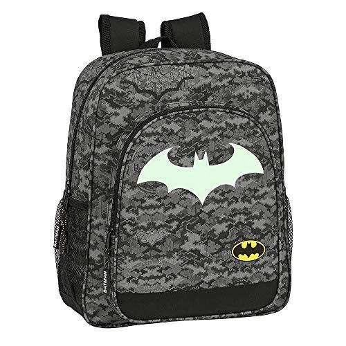 Batman Mochila para Niños  Bolso de Viaje Equipaje Infantil  Diseño Fluorescente Brilla