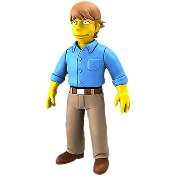 NECA The Simpsons plus Guest Stars Series 3 Stephen King FIGURINE