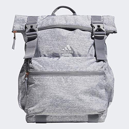 adidas Unisex Yola Backpack, Light Jersey/Grey/Rose Gold, ONE SIZE
