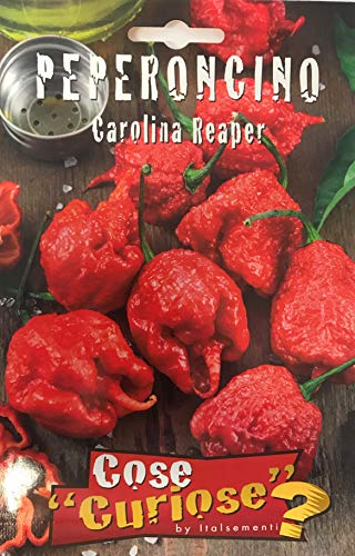 Semi Sementi Di Carolina Reaper Peperoncino Peper - (2 Bustine)