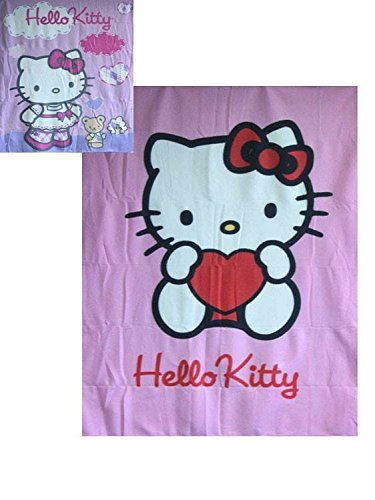Aliki Hello Kitty Fleece-Decke Teddy