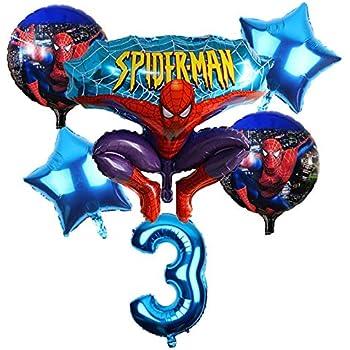 Spiderman  Folienballon rund 45cm Ballon Luftballon Geburtstag Helium Party