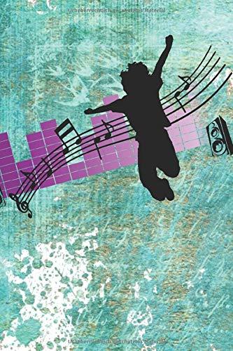 Notizbuch: Notenheft für deine Musik 6x9