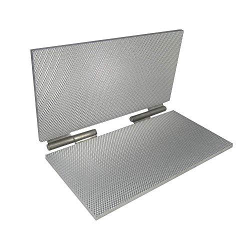 220 x 420mm Bijenwas Embossing Mold Machine Printer Bee Wax Comb Foundation Pers Cel Grootte 5.4mm of 4.9mm Optioneel (5.4mm)