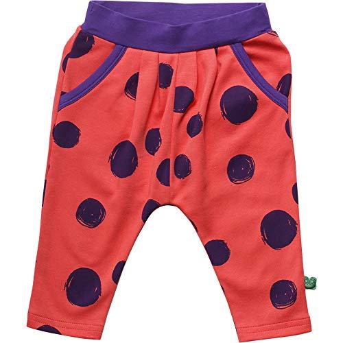 Fred'S World By Green Cotton Circus Dot Pants Pantalon, Orange (Warm Coral 018164901), 86 Bébé Fille