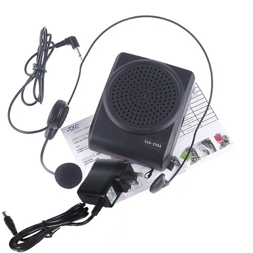 Andoer Mini 8 Multi Voice Changer Microphone Megaphone Loudspeaker