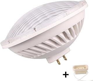 baoming PAR56GX16d Base 26W 240V SMD LED 300W bombillas halogenas equivalente amplio angulo de haz de inundacion blanco calido 2700–3000K Iluminacion Interior