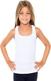 Malibu Sugar Girls (7-10) Racer Back Tank Top