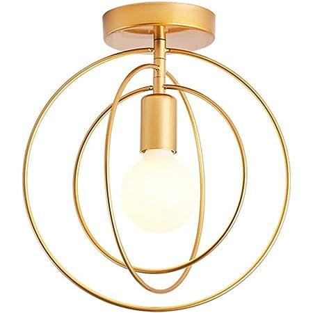 Mengjay E27 Métal Retro Suspensions Luminaire Lampe Industriel Vintage Plafonnier Luminaire Antique Pendante éclairage Vintage Plafond Lustre Plafonnier Lampe LED Antique Suspensions Luminaire