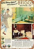 バスルームボトルネックティンサイン壁の装飾金属ポスターレトロプラーク警告サインオフィスカフェクラブバーの工芸品