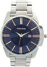 [ポリス] POLICE 腕時計 クォーツ 14384JS03M ネイビー シルバー メンズ [並行輸入品]