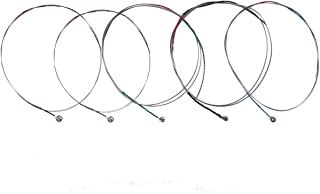 QINGGE Full Size Violin Strings set Wire rope string for Beginner,Student violin Replacement