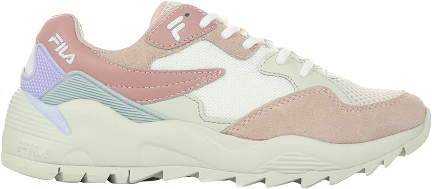 Fila Womens Vault CMR Jogger CB Low Leather Mesh Trainers