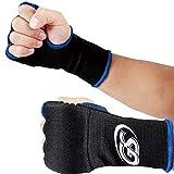 global sports (グローバルスポーツ) ジェルインナーグローブ JIG-057 黒 フリーサイズ ボクシング 空手 キックボクシング 簡単バンテージ