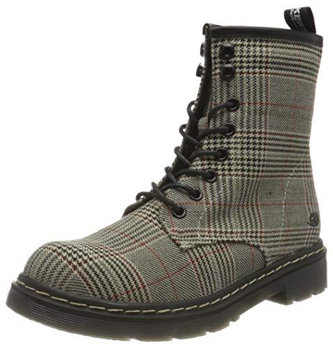 Dockers by Gerli Damen Mode-Stiefel, braun/schwarz, 39 EU