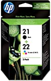HP SD367AE 21/22 Original Ink Ca...