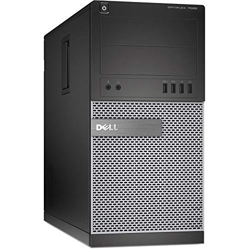 Dell Optiplex 7020 Tower Core i5-4570 3.2 GHz 8 GB 240 GB SSD DVD Win 10 Pro (Renewed)