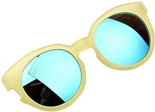 QPODGQ - Gafas De Sol Niño Niño Niña Niño Gafas De Sol Gafas De Sol Brillante Lente Protección Espejo