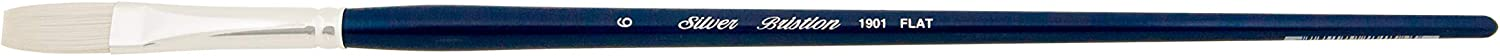 Silver Brush Limited NEW before selling 1901 Bristlon for Artist Acrylic Some reservation Flat