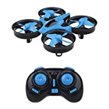 sykii RC Mini Drone H36 2.4Ghz 6Axis Gyro Headless Mode Remote Control One Key Return RC Helicopter.